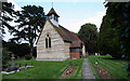 SP9505 : Hawridge Church & church yard by Tom Presland