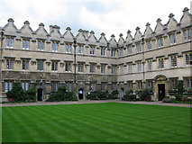 SP5106 : The inner quad, Jesus College, Oxford by Nick Smith