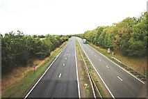 NZ4613 : Traffic on the A19(T) road by Philip Barker