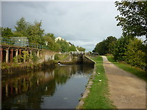 SE2833 : Walking along the Leeds to Liverpool Canal #26 by Ian S
