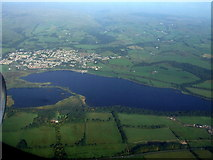 NS3658 : Castle Semple Loch from the air by Thomas Nugent