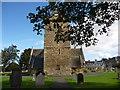 NT4679 : East Lothian Architecture : Aberlady Parish Church - view of west end by Richard West