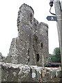 SN0717 : Llawhaden castle ruins, Pembrokeshire by nick macneill