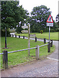 TG3204 : Wherryman's Way signpost at Rockland Staithe by Glen Denny