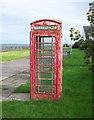 J6074 : Telephone Call Box near Millisle by Rossographer
