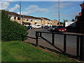 SP3292 : Housing and access to public open space, Freesland Drive, Whittleford by John Brightley