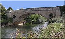 ST7165 : Bridge carrying the A4 at Newbridge, Bath by Rick Crowley