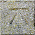 SU1484 : Cut mark, 6 East Street, Swindon by Brian Robert Marshall