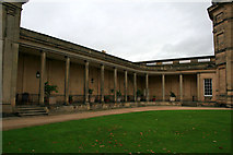SJ5409 : The west colonnade by David Lally