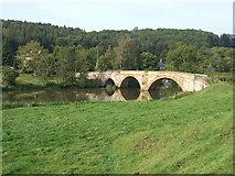 SE7365 : Bridge Over River Derwent by Keith Laverack