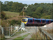 SE7365 : Train Crossing Centenary Way by Keith Laverack