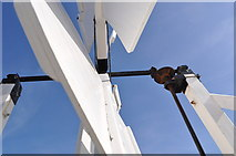 TF7632 : Great Bircham Windmill - Fantail by Ashley Dace