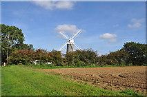 TF7632 : Great Bircham Windmill by Ashley Dace