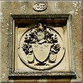 SU1084 : Coat of arms, St Mary's Church, Lydiard Tregoze, Swindon by Brian Robert Marshall