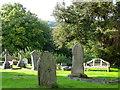 SO3003 : Churchyard, St Illtyd's Church by Maigheach-gheal