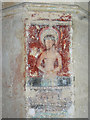 SU1084 : Wall painting, St Mary's Church, Lydiard Tregoze, Swindon by Brian Robert Marshall