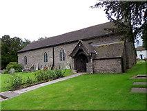 SO0128 : St Cattwg's Church, Llanspyddid by Maigheach-gheal