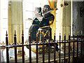 SU1084 : The Nicholas monument (1), St Mary's Church, Lydiard Tregoze, Swindon by Brian Robert Marshall