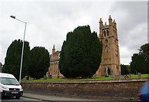 SO1091 : St David's Church, Newtown by Bill Boaden