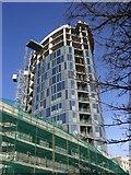 TQ3266 : New flats at Spurgeon's Bridge, West Croydon. by Robert Rimell