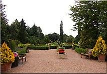 SJ7243 : Entrance to the gardens by Steve Daniels