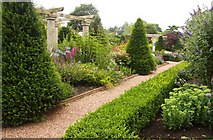 SJ7243 : Gravel path in the gardens by Steve Daniels