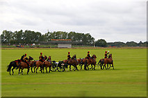 SU8707 : Cavalry at Goodwood Revival 2010 by Christine Matthews