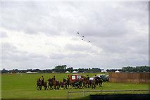 SU8707 : Goodwood Revival 2010 - Battle of Britain 70th Anniversary by Christine Matthews