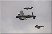 SU8707 : Battle of Britain Memorial Flight, Goodwood Revival 2010 by Christine Matthews