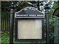 NZ2153 : No Place Community Notice Board by Alex McGregor