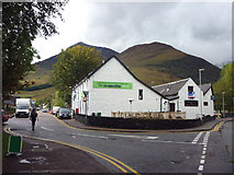 NN0858 : The Co-op shop, Ballachulish by Karl and Ali
