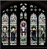 TM5286 : St Edmund's church in Kessingland - east window by Evelyn Simak