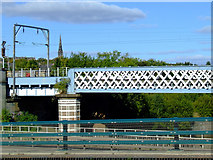 NS5566 : Bridges over the River Kelvin by Thomas Nugent