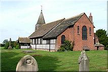 SJ8567 : Marton church by Geoff Royle