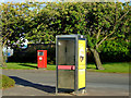 NS5165 : Phonebox and postbox by Thomas Nugent