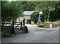 SW9039 : Melinsey Mill Tea Room and light bights by roger geach