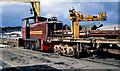 D4102 : DH locomotive, Larne Harbour by Albert Bridge