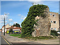 TG2307 : The ruined St Bartholomew's church in Ber Street, Norwich by Evelyn Simak