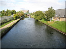 TQ2182 : Grand Union Canal in Old Oak Common by Nigel Cox