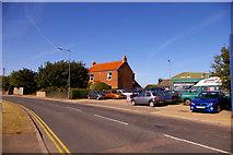 TG3433 : B1159, Bacton, Norfolk by Christine Matthews