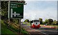 J2359 : Advance direction sign, Hillsborough bypass (3) by Albert Bridge