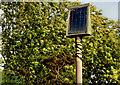 J2359 : Solar panel, Hillsborough bypass by Albert Bridge