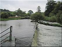 SE7365 : Weir  at  Kirkham  Abbey by Martin Dawes