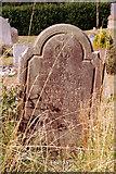 TG3433 : Gravestone, Bacton, Norfolk by Christine Matthews