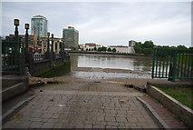 TQ3078 : Slipway, Lock's Dock, Albert Embankment by N Chadwick