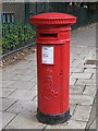 NZ2364 : Edward VII postbox, Stanhope Street, NE4 by Mike Quinn