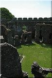 SX1061 : Restormel Castle: inside the keep by Christopher Hilton