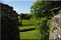 SX1061 : Restormel Castle: looking out from the keep by Christopher Hilton