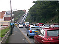 TQ8109 : Traffic on White Rock Road by Oast House Archive