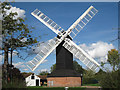 TQ3245 : Outwood Windmill by Oast House Archive
